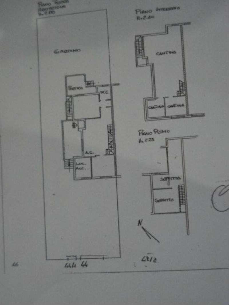Planimetria Via Bolzoni