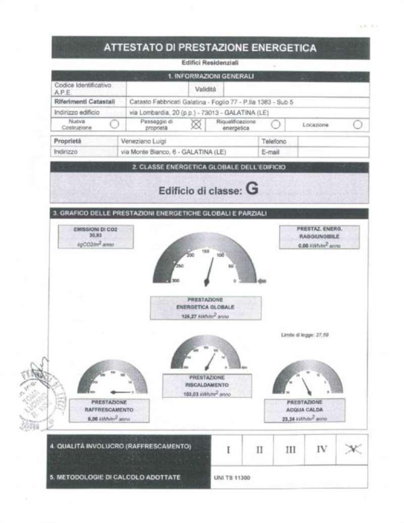 Vendita  bilocale Galatina Via Lombardia 1 949291