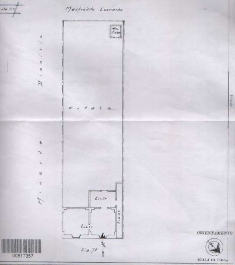 Vendita  bilocale Manduria Via Specchia D'oria 1 939083