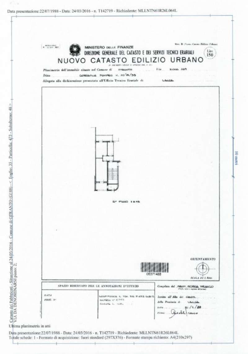 Vendita  bilocale Otranto Via Dei Pini 1 941942