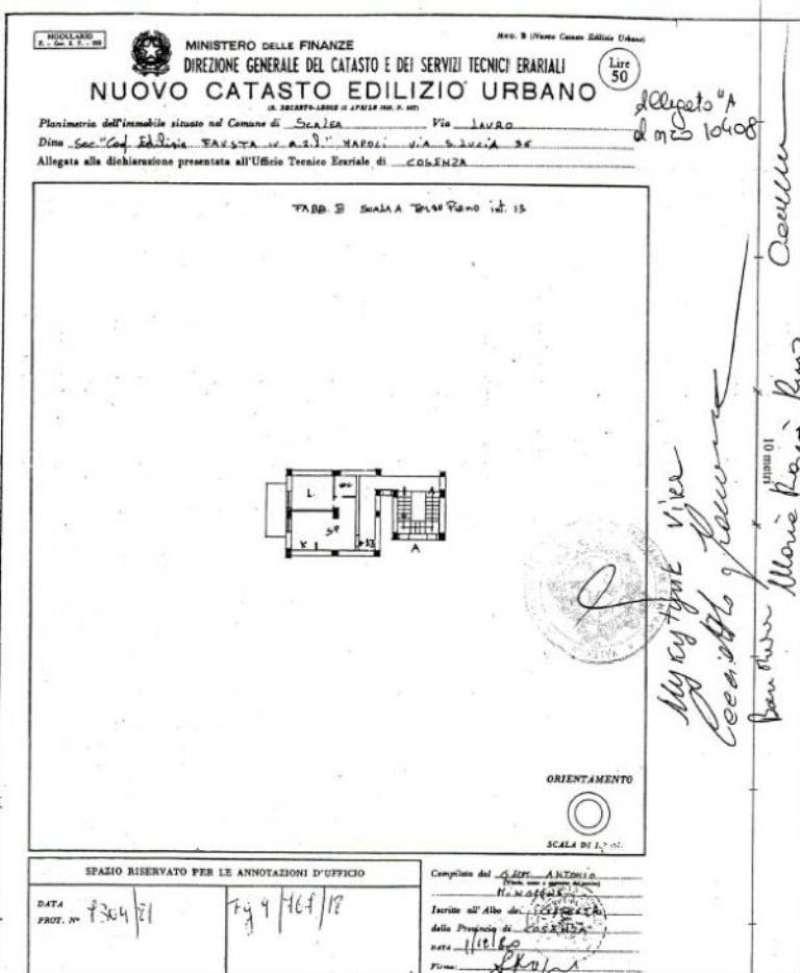 Vendita  bilocale Scalea Via Luigi Einaudi 1 947108