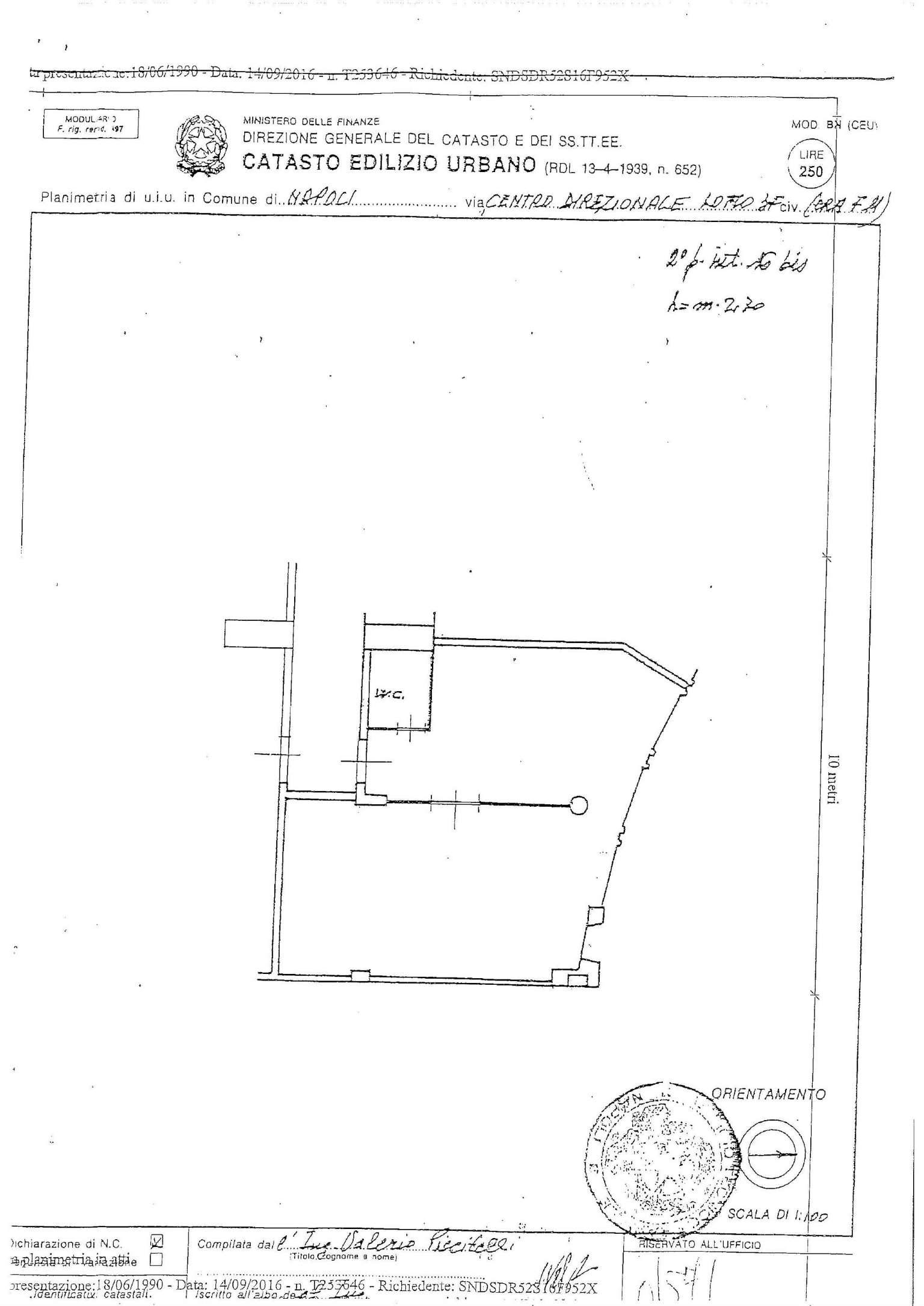 Vendita  bilocale Napoli Via Giovanni Porzio 1 1119478