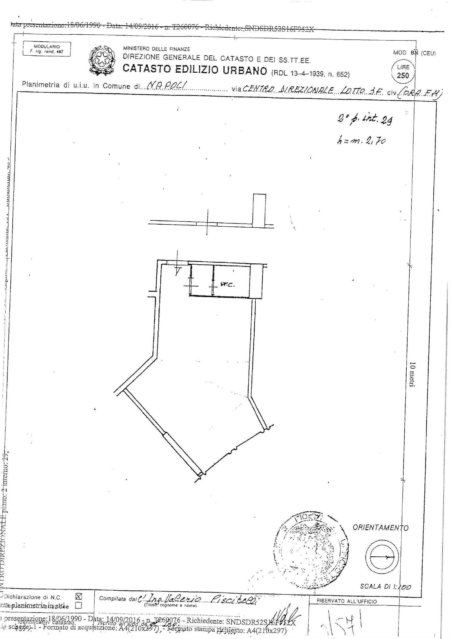 Vendita  bilocale Napoli Via Giovanni Porzio 1 1119479