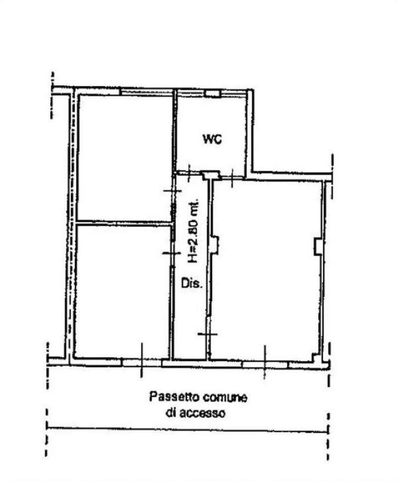 Vendita  bilocale Bellona Via Giordano Bruno 1 695753
