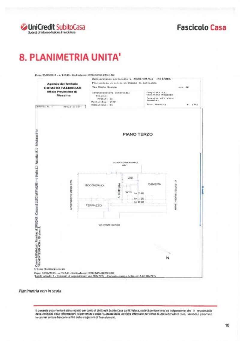 Vendita  bilocale Letojanni Contrada Papale 1 882155