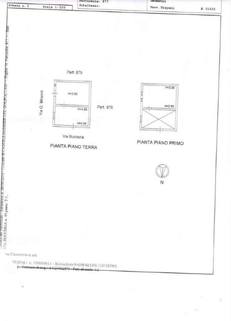 Vendita  bilocale Castellammare del Golfo Via Don Giovanni Minzoni 1 873587