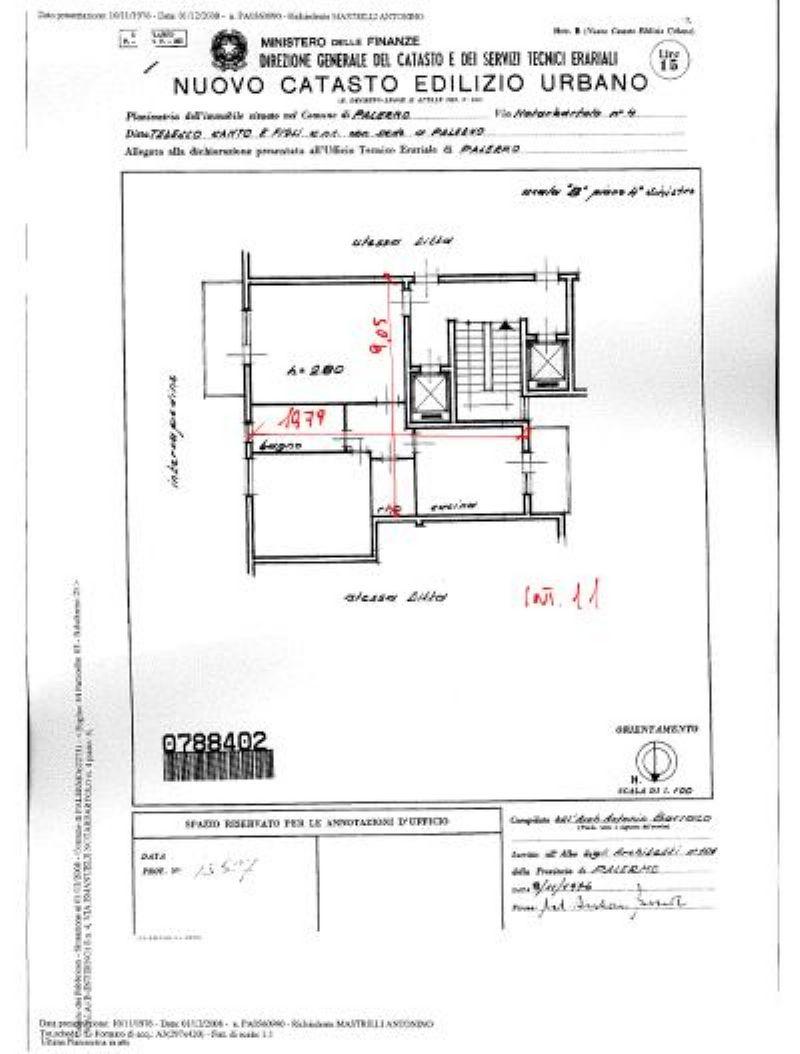 Vendita  bilocale Palermo Via Emanuele Notarbartolo 1 1058486