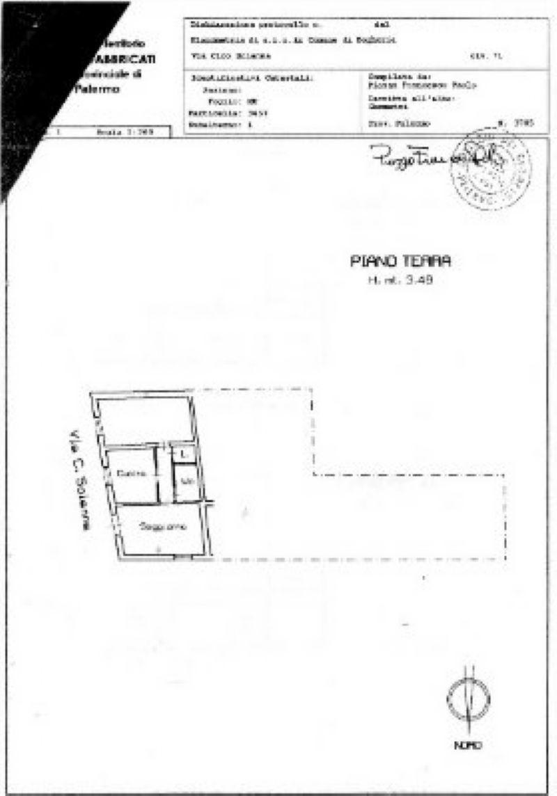 Vendita  bilocale Bagheria Via Ciro Scianna 1 559667