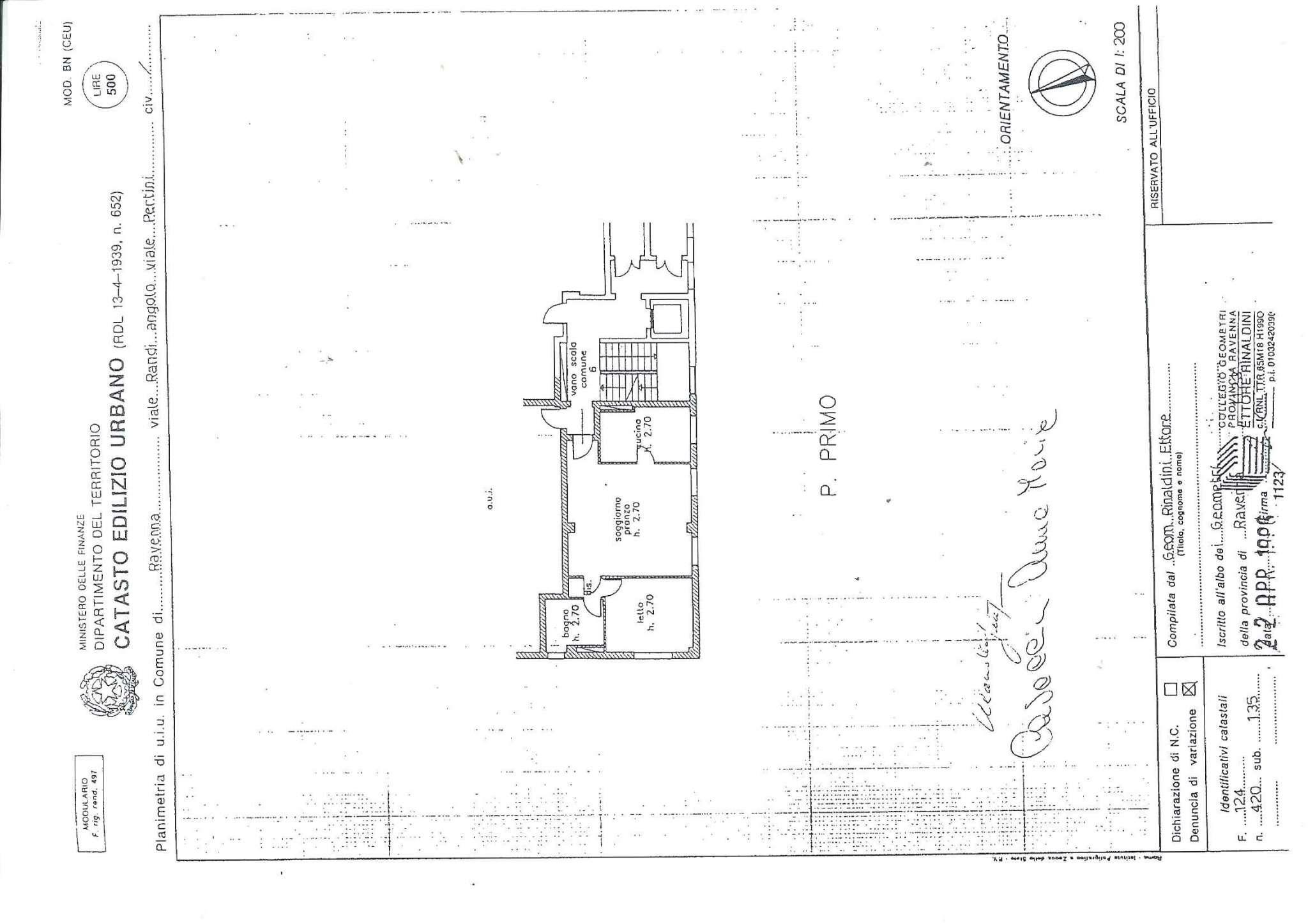 Vendita  bilocale Ravenna Via Dell'aida 1 904745