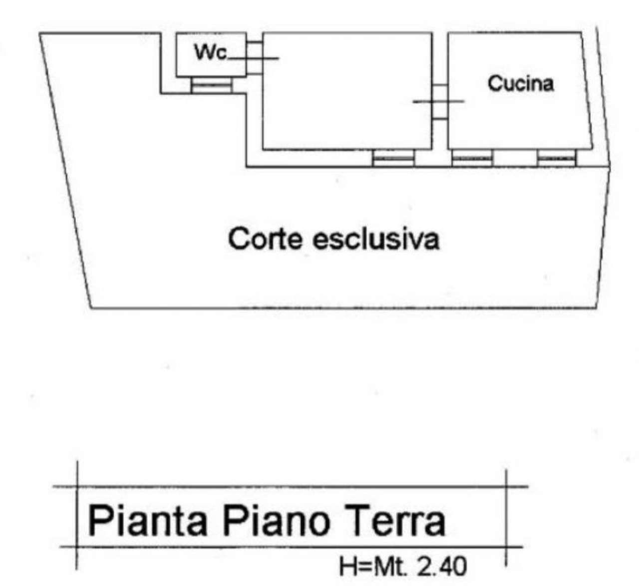 Vendita  bilocale Massa Via San Remigio Di Sopra 1 912657