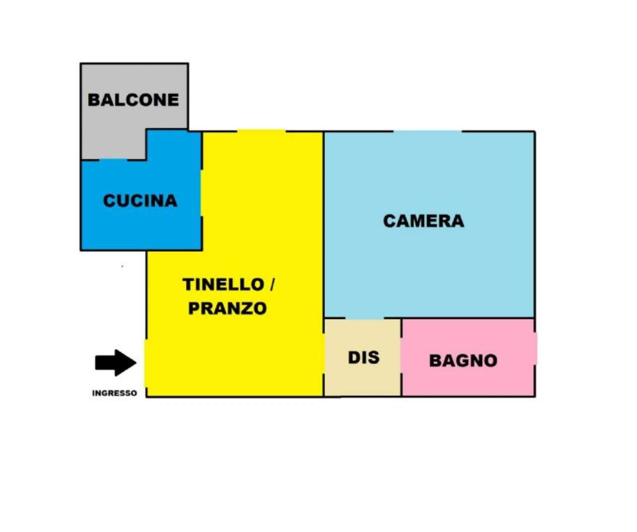 Vendita  bilocale Prato Via Alighiero Ceri 1 919222