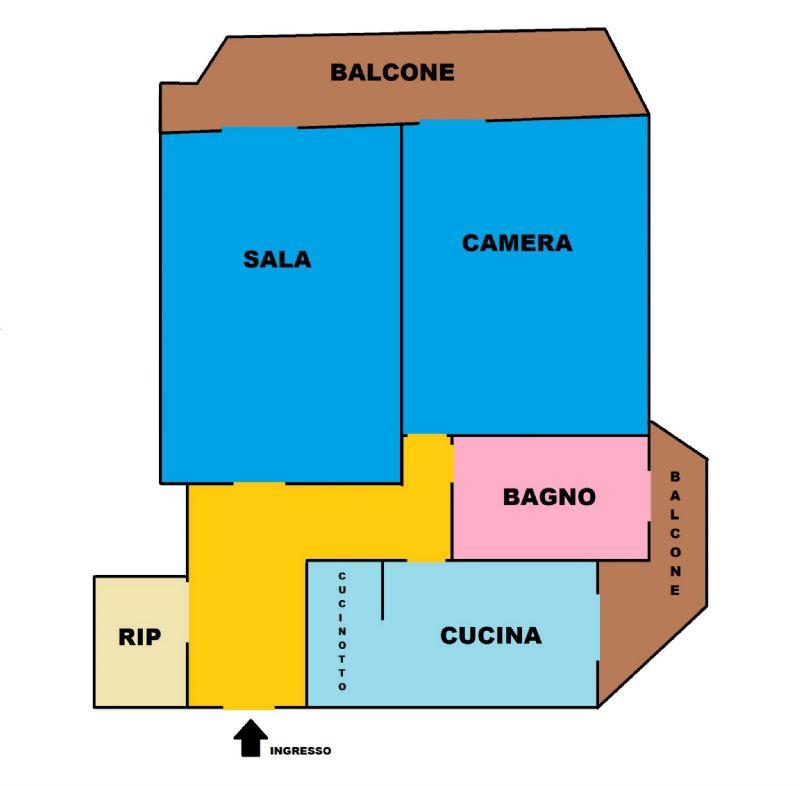 Vendita  bilocale Prato Via Ferrara 1 1009572