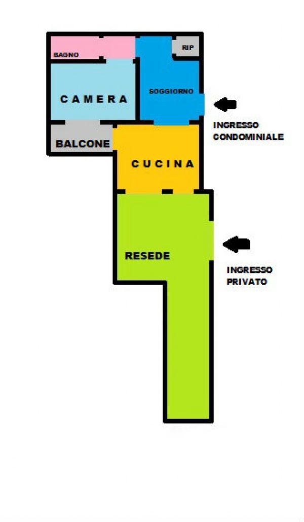 Vendita  bilocale Carmignano Via Baccheretana 1 1082087