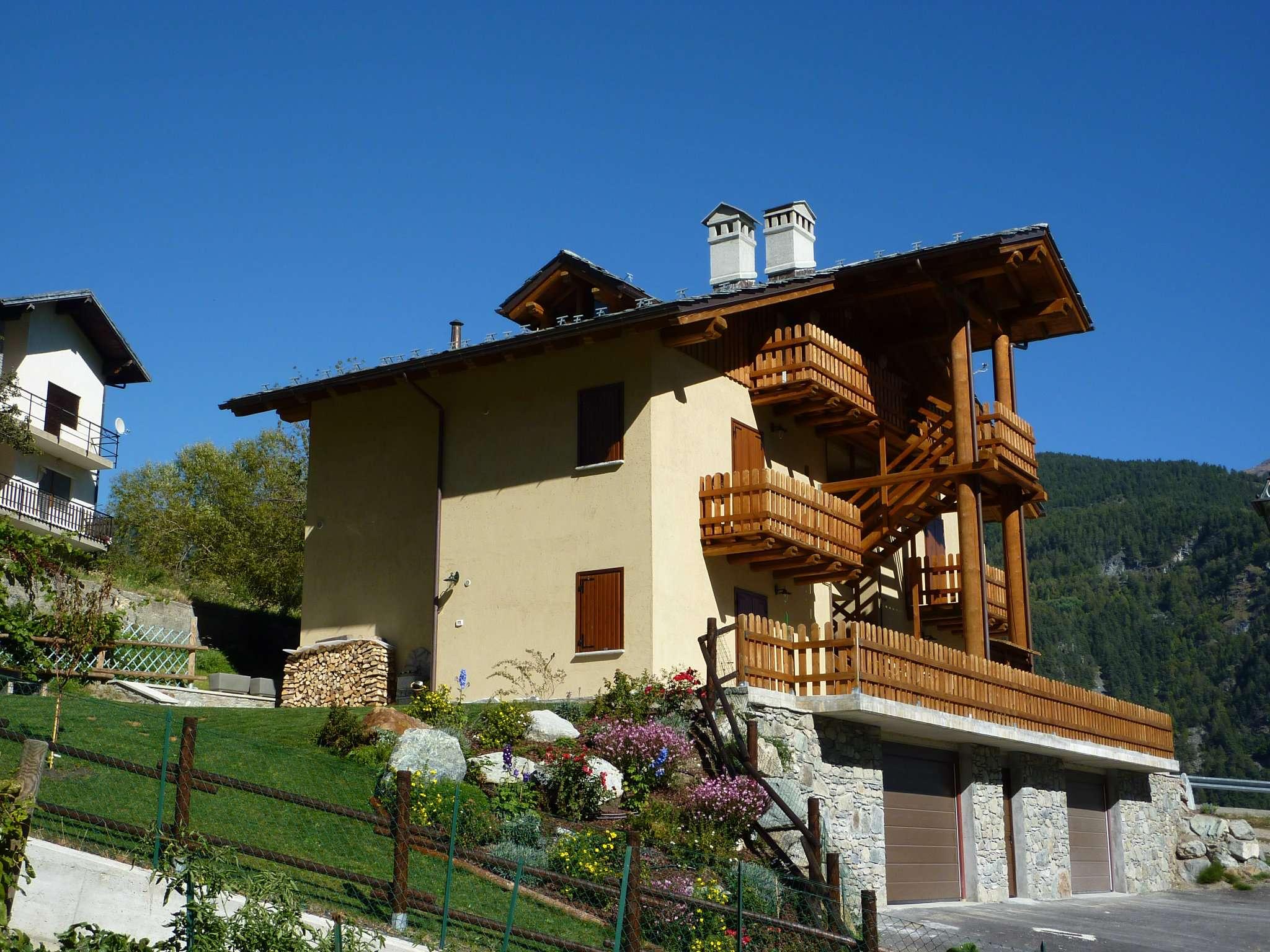 Bilocale Torgnon Borgo Torgnon Frazione Berzin 7