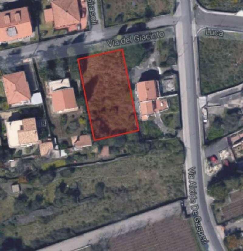 Terreno Edificabile Residenziale in vendita a Pedara, 10 locali, prezzo € 88.000 | Cambio Casa.it