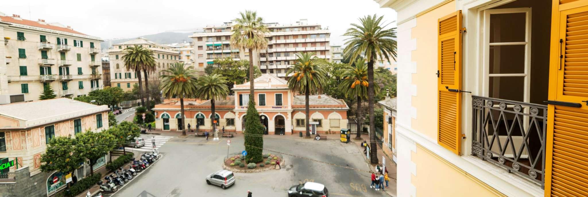 Bilocale Genova Viale Pallavicini 7