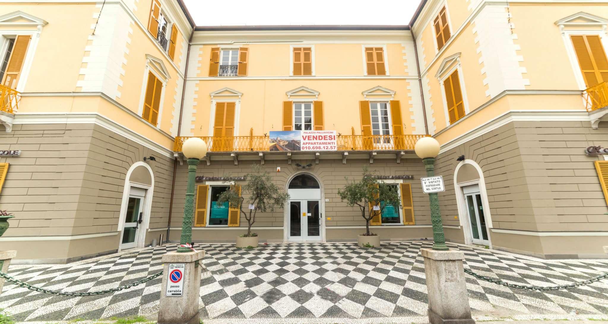 Bilocale Genova Viale Pallavicini 9