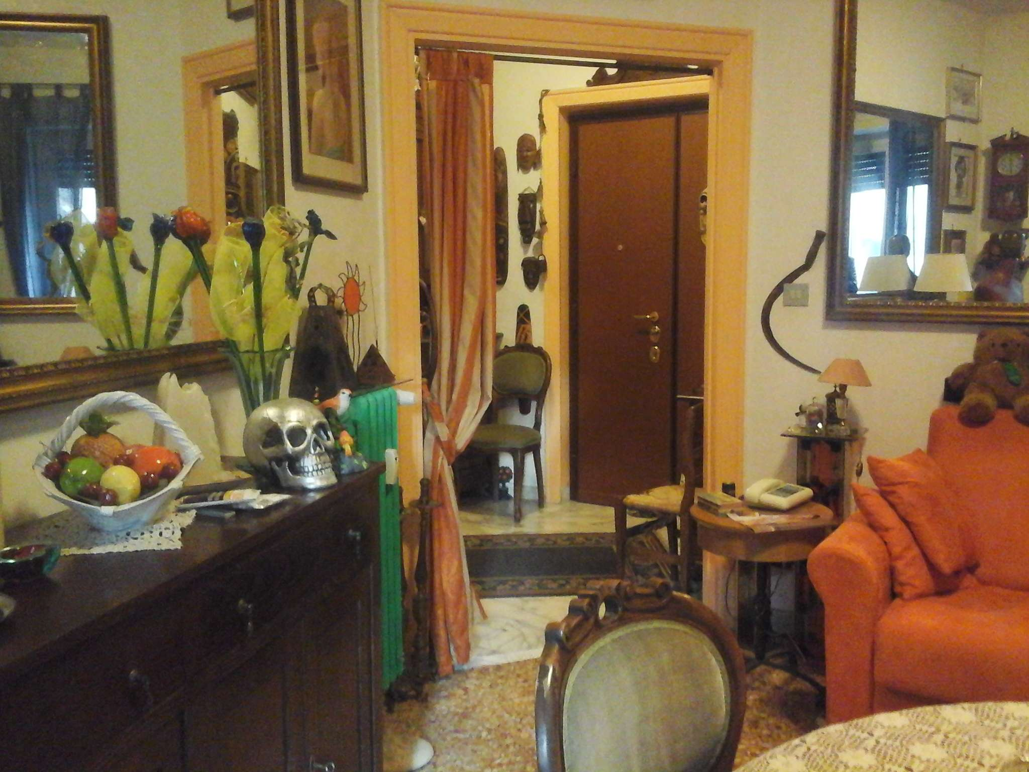 Trilocale in affitto a Roma in Via Elio Donato