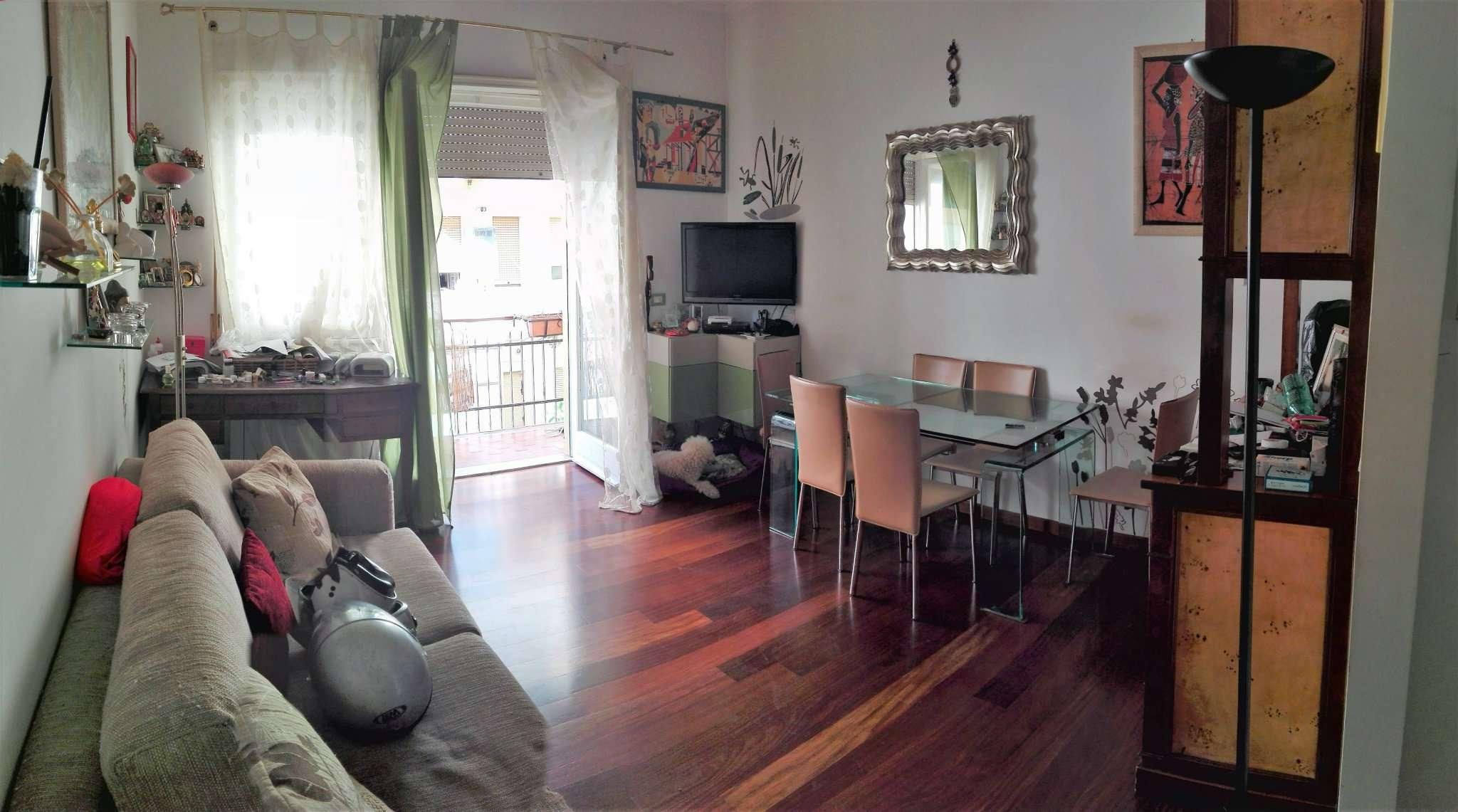 Appartamento in vendita 3 vani 95 mq.  via andreotto saracini Roma