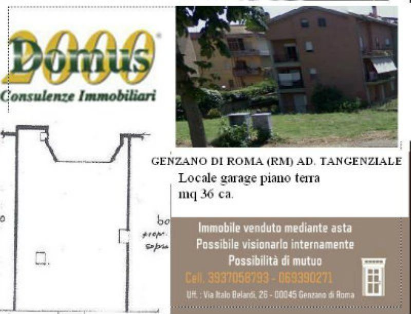 garage-Box-posto auto Vendita Genzano Di Roma