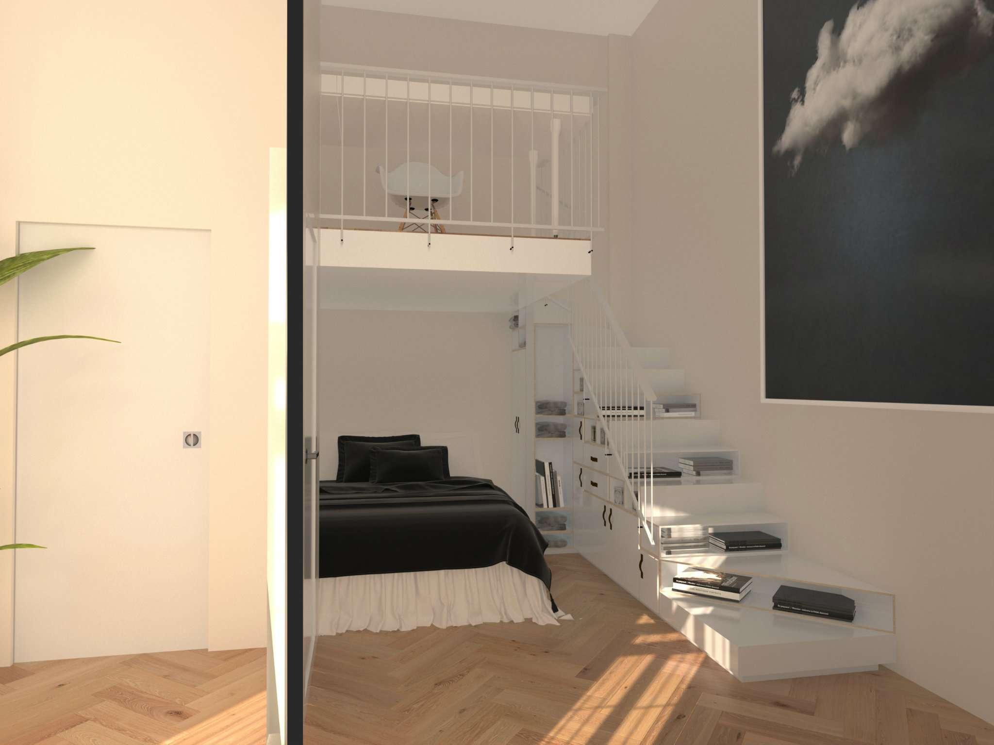 Loft open space in Vendita a Milano 06 Italia / Porta Romana / Bocconi / Lodi: 3 locali, 75 mq