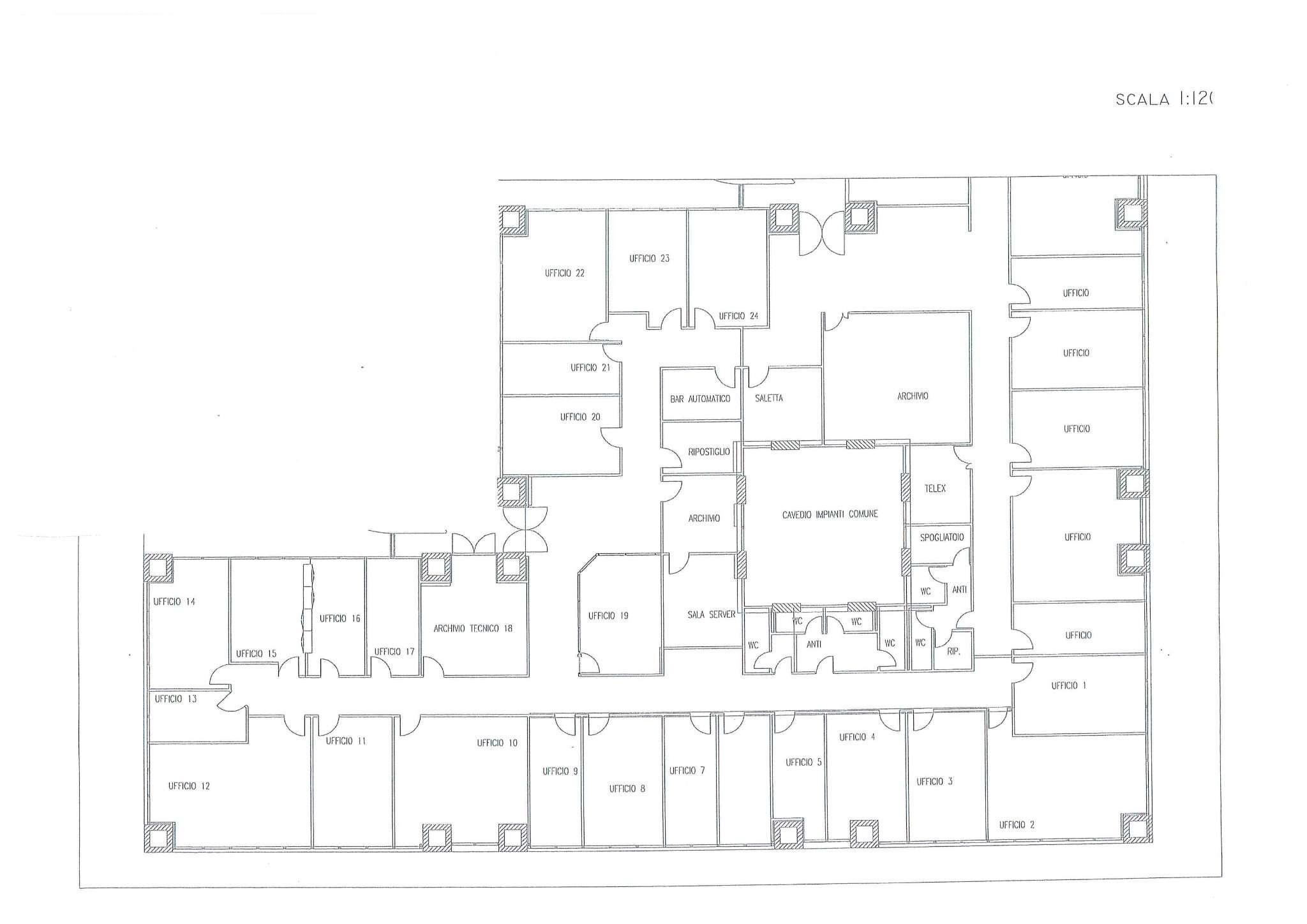 Ufficio / Studio in affitto a Venezia, 9999 locali, zona Zona: 11 . Mestre, prezzo € 12 | CambioCasa.it