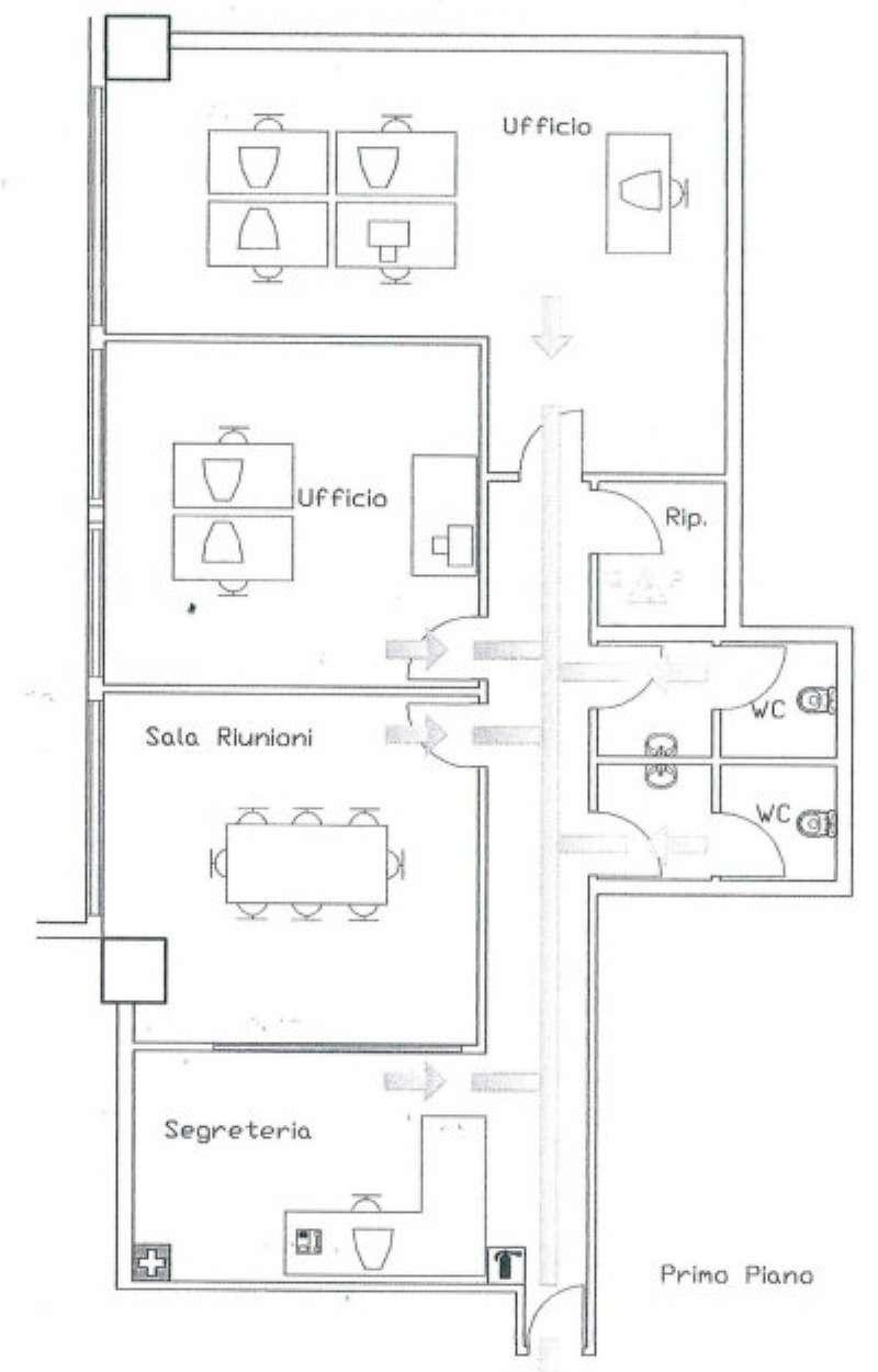 Ufficio / Studio in affitto a Venezia, 4 locali, zona Zona: 11 . Mestre, Trattative riservate | Cambio Casa.it