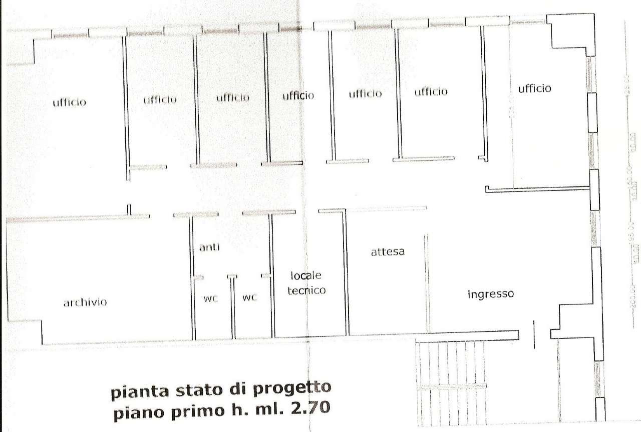 Ufficio / Studio in affitto a Venezia, 9999 locali, zona Zona: 11 . Mestre, prezzo € 1.800   CambioCasa.it