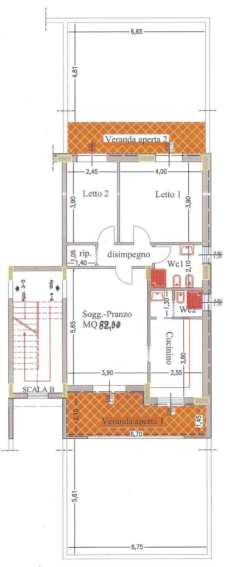 Appartamento in vendita a Pulsano, 4 locali, prezzo € 125.000 | Cambio Casa.it