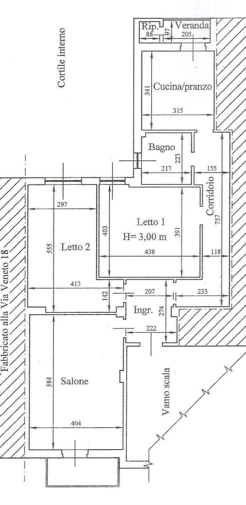 Appartamento in vendita a Taranto, 3 locali, prezzo € 95.000 | Cambio Casa.it