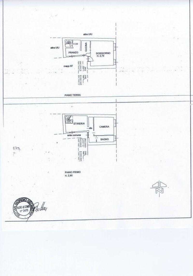 Soluzione Semindipendente in vendita a Figino Serenza, 4 locali, prezzo € 79.000 | Cambiocasa.it
