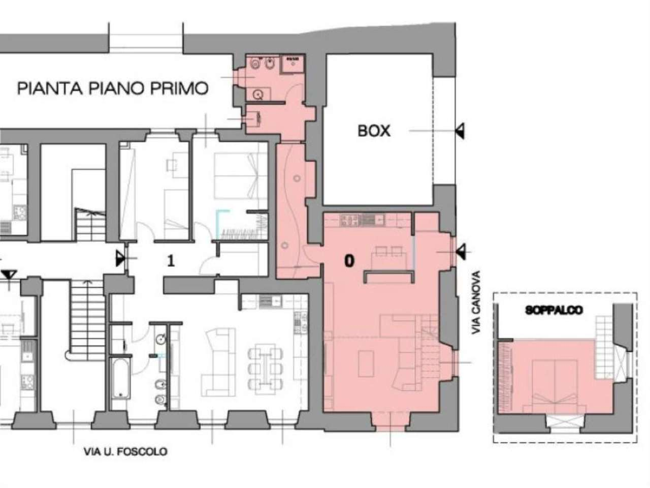 Trieste Affitto LOFT Immagine 1