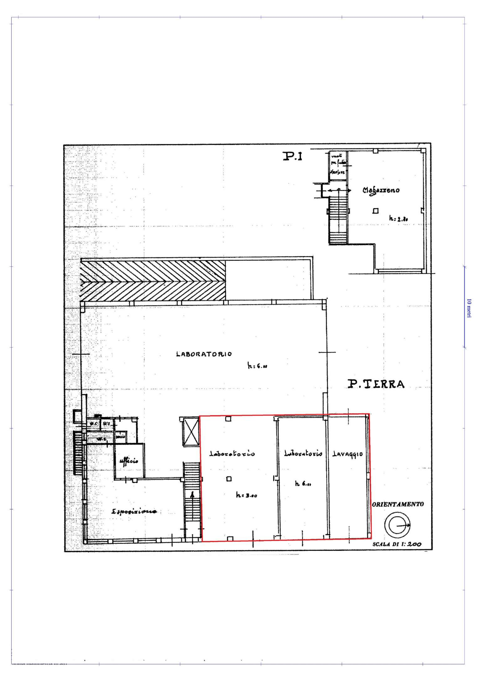 Laboratorio in affitto a Busca, 1 locali, prezzo € 1.000 | Cambio Casa.it