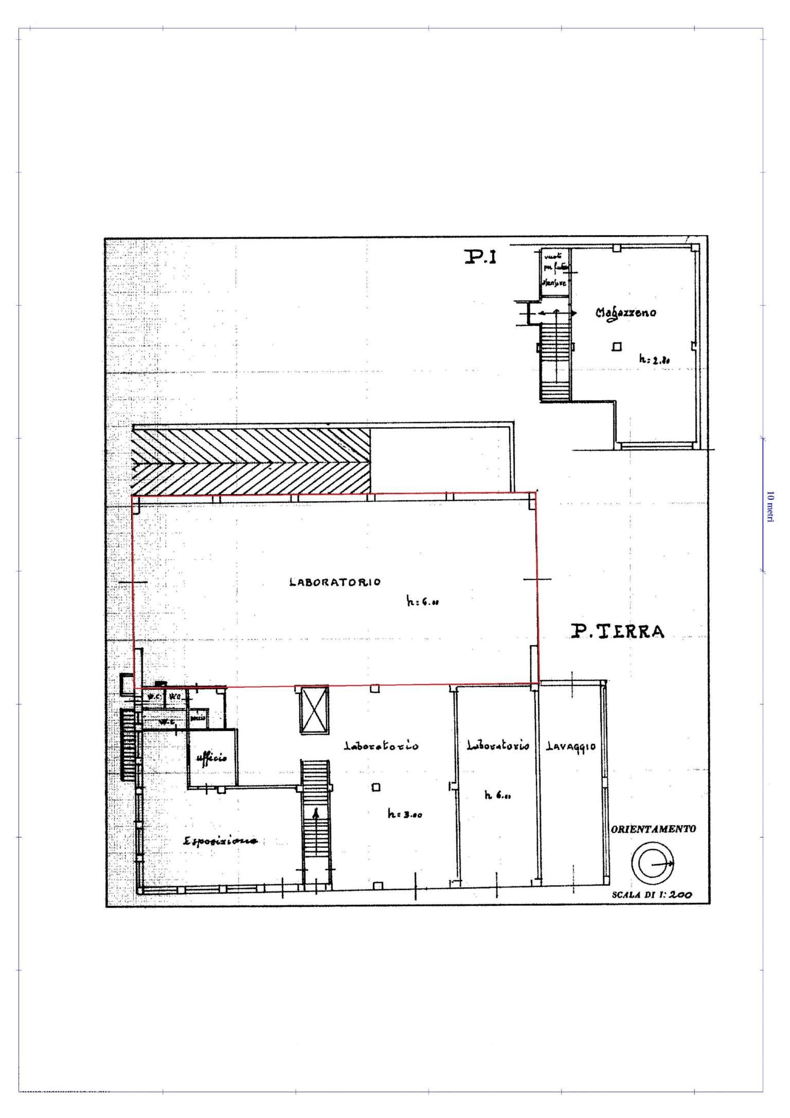 Laboratorio in affitto a Busca, 1 locali, prezzo € 1.500 | Cambio Casa.it