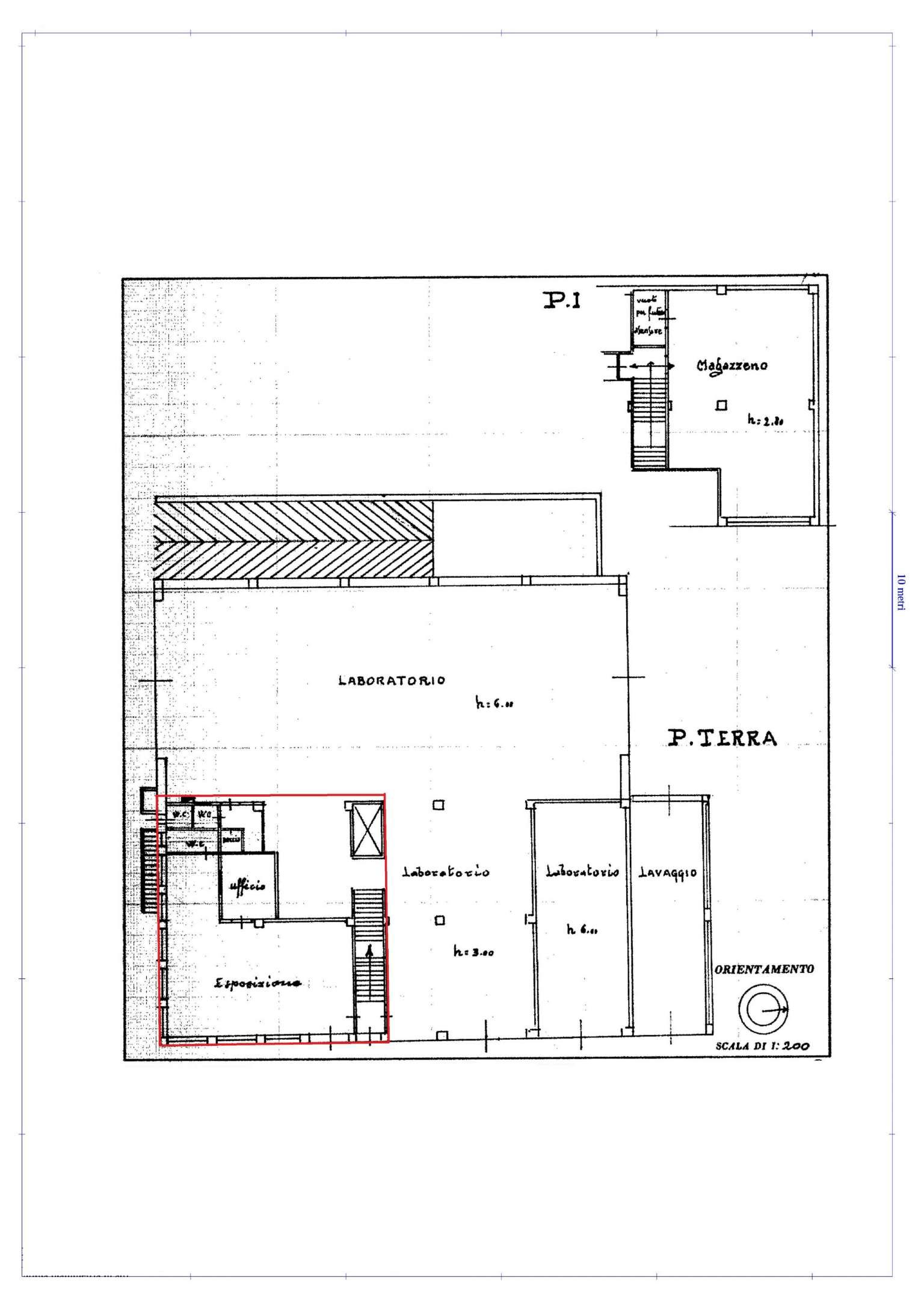Laboratorio in affitto a Busca, 2 locali, prezzo € 1.000 | Cambio Casa.it