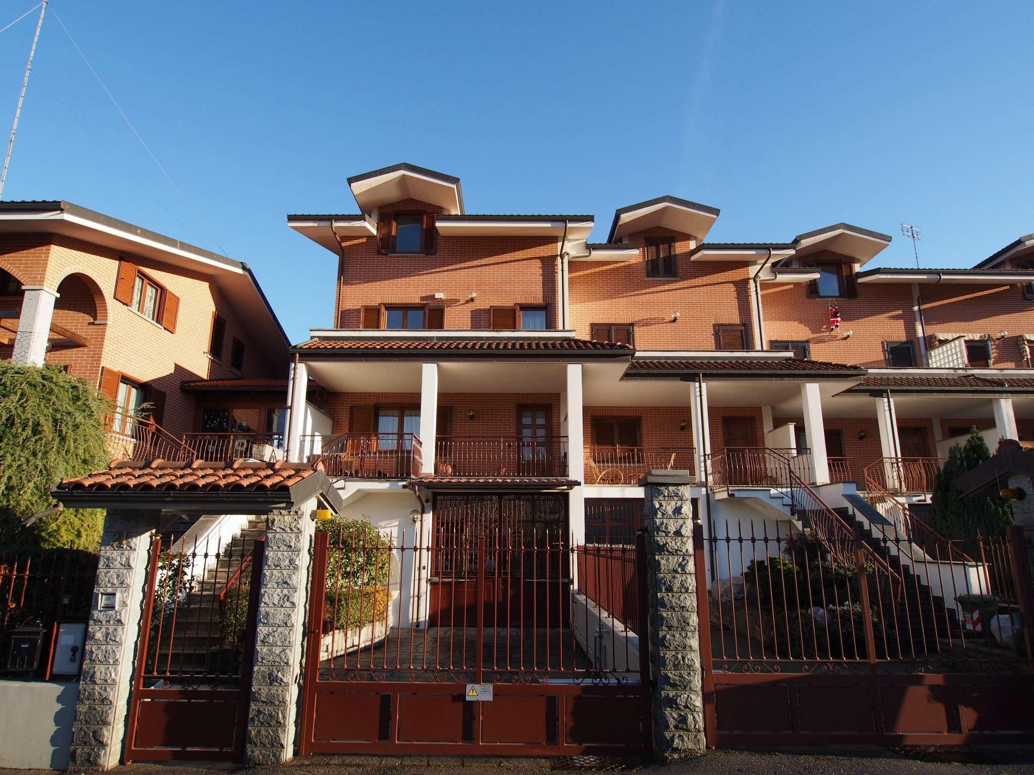 Villetta a Schiera in vendita via Partigiani D'Italia 21 Avigliana