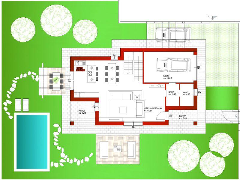 Villa in vendita a Albignasego, 8 locali, prezzo € 430.000 | CambioCasa.it