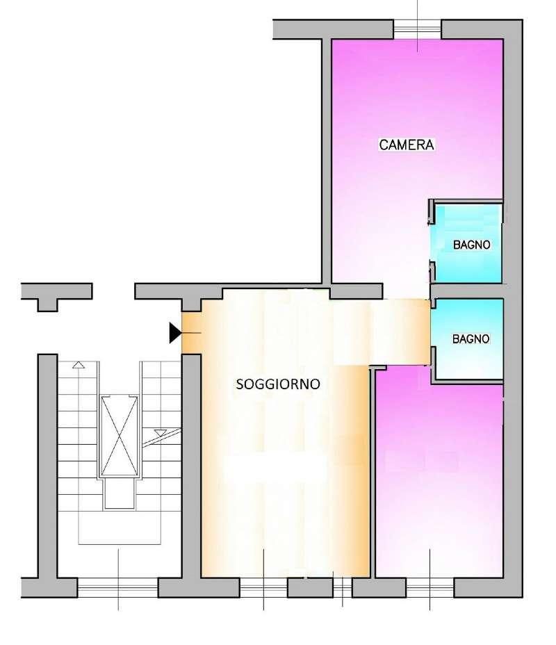 Appartamento in Vendita a Milano: 3 locali, 75 mq - Foto 9