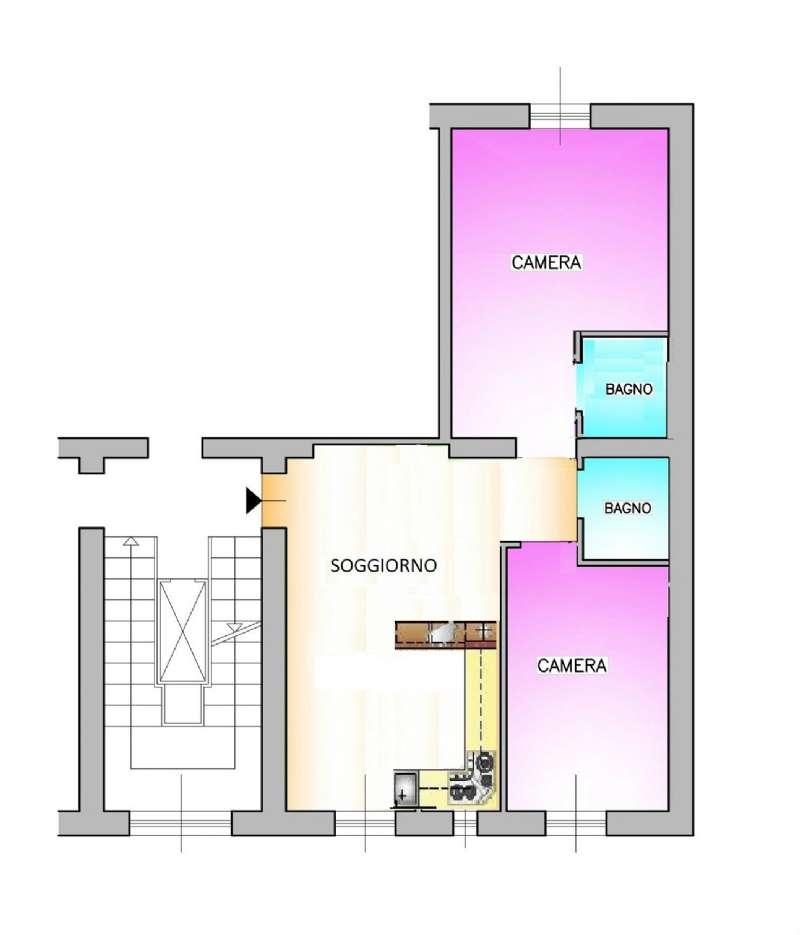 Appartamento in Vendita a Milano: 3 locali, 75 mq - Foto 8