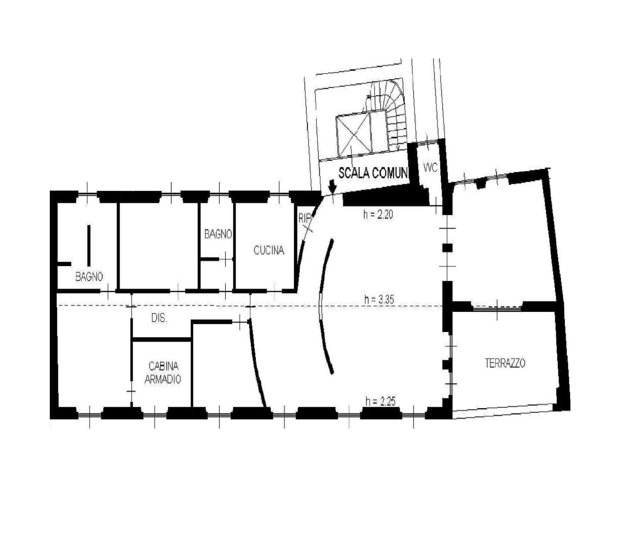 Appartamento in Vendita a Milano: 5 locali, 220 mq - Foto 1