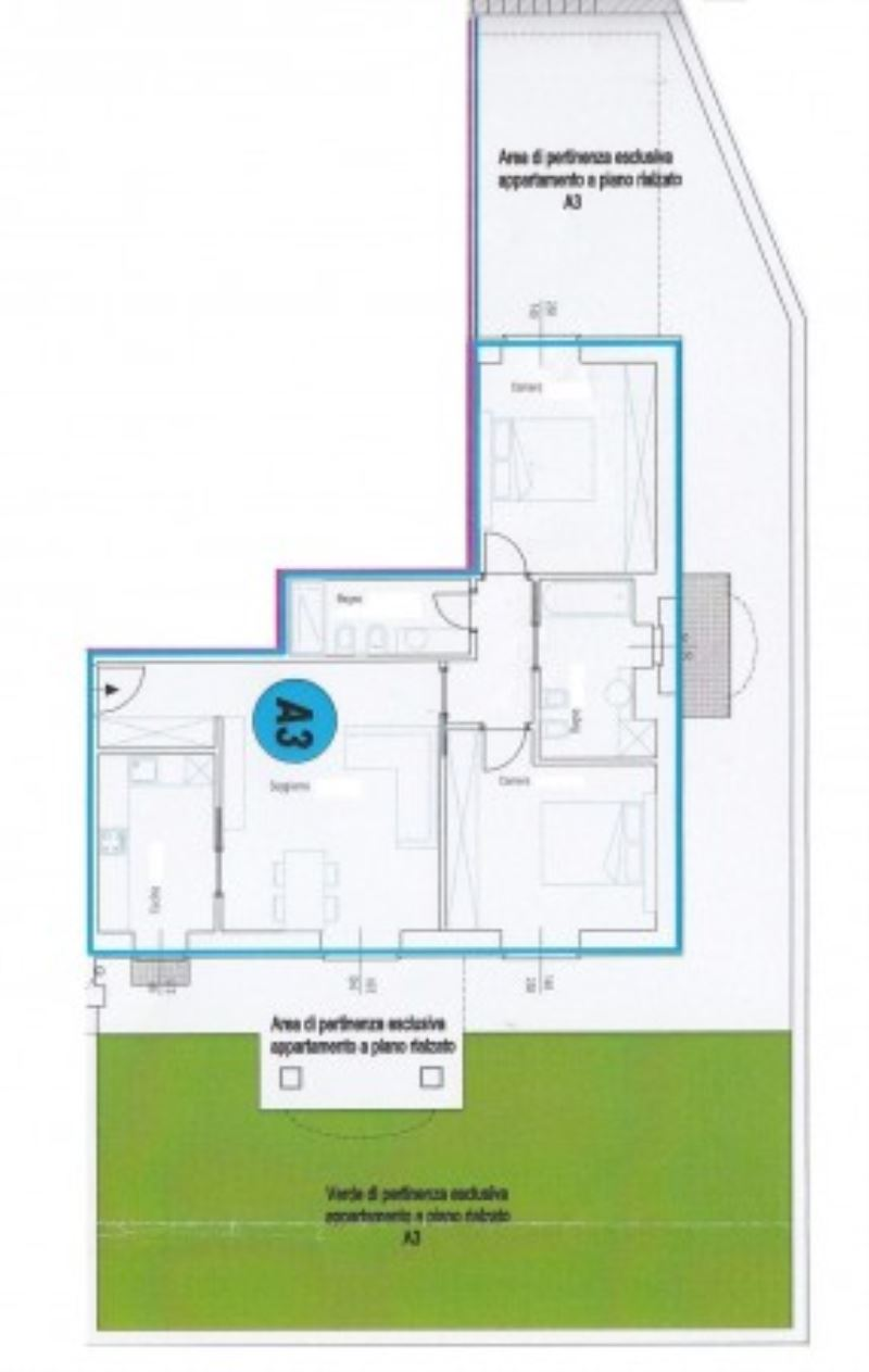 Appartamento in vendita a Santa Vittoria d'Alba, 4 locali, prezzo € 230.000 | Cambio Casa.it