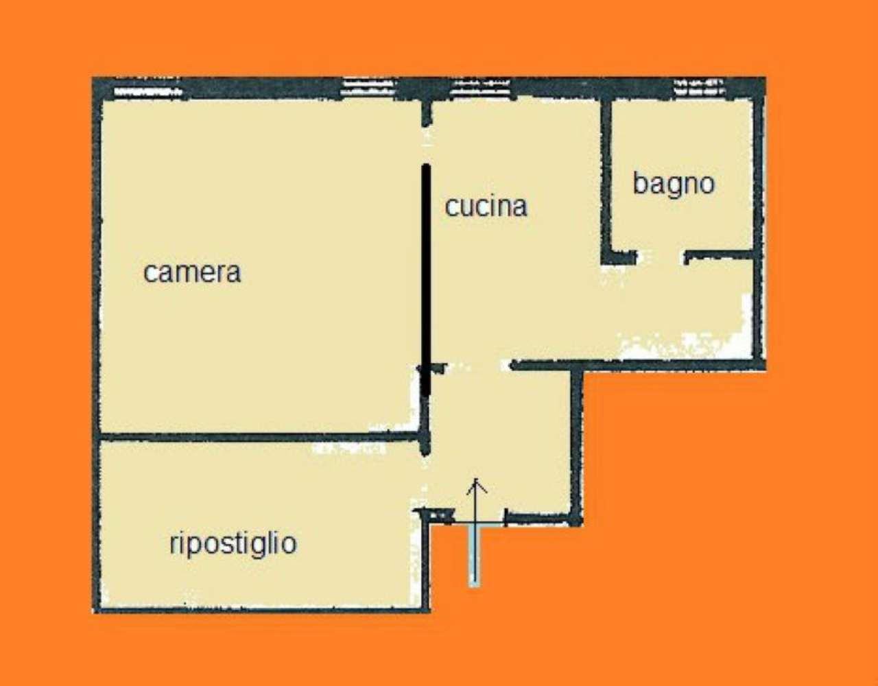 Vendita  bilocale Venezia Calle Fondamenta Ormesini 1 1012644