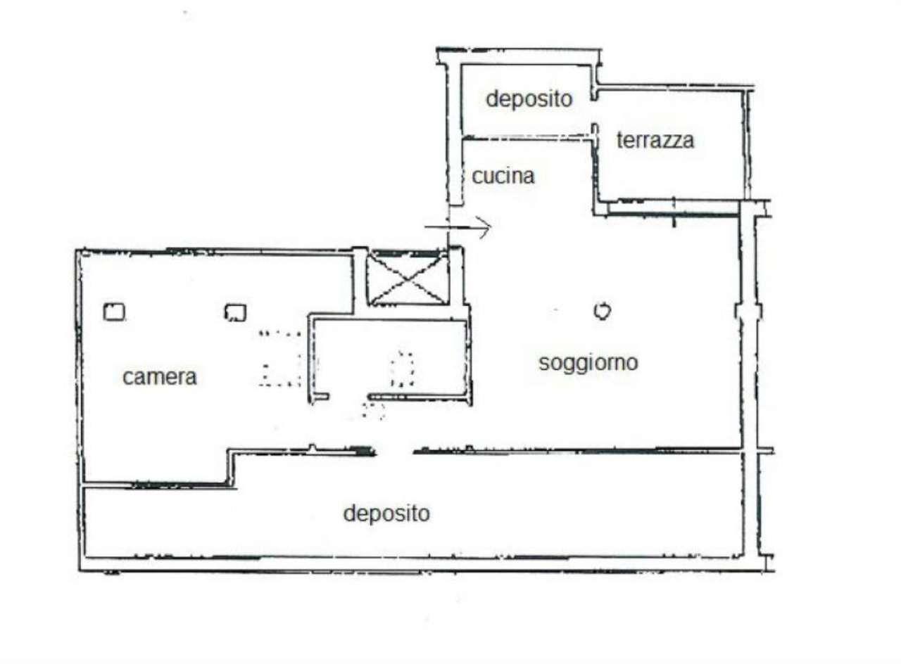 Vendita  bilocale Venezia Calle Calle Priuli 1 670437