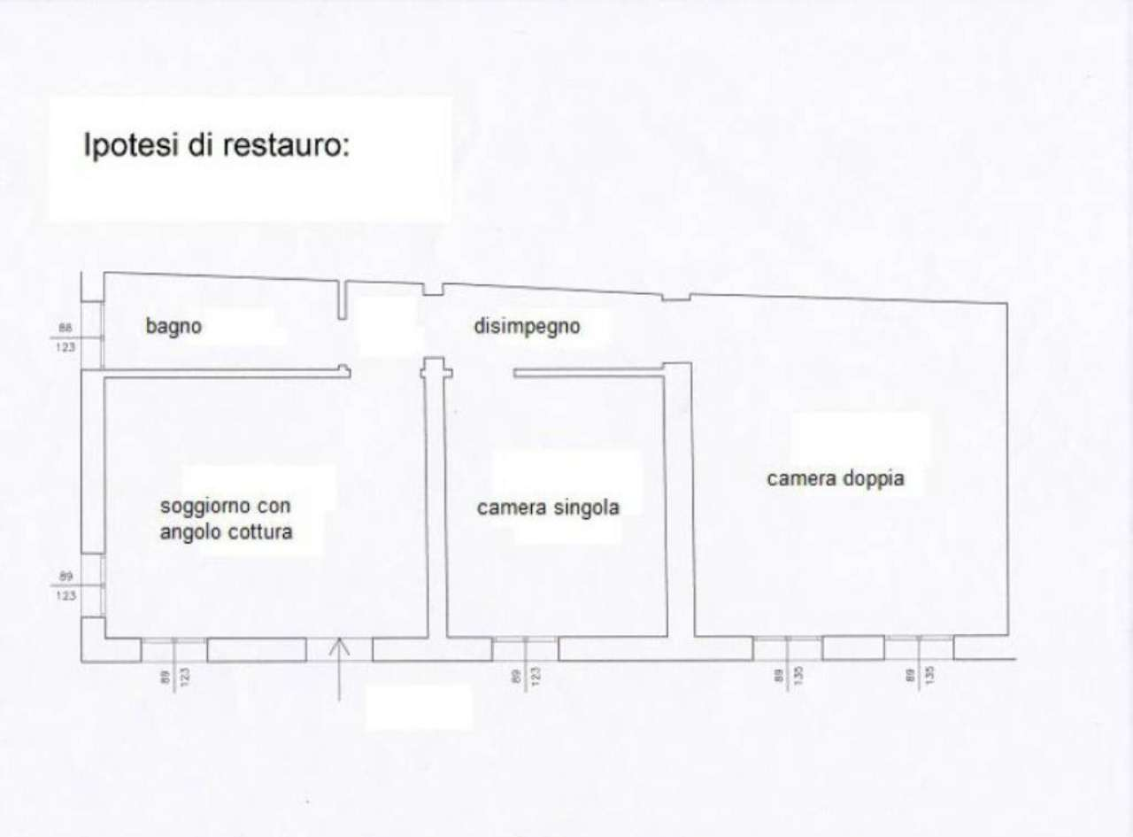 Vendita  bilocale Venezia Calle Calle Canna 1 1033798