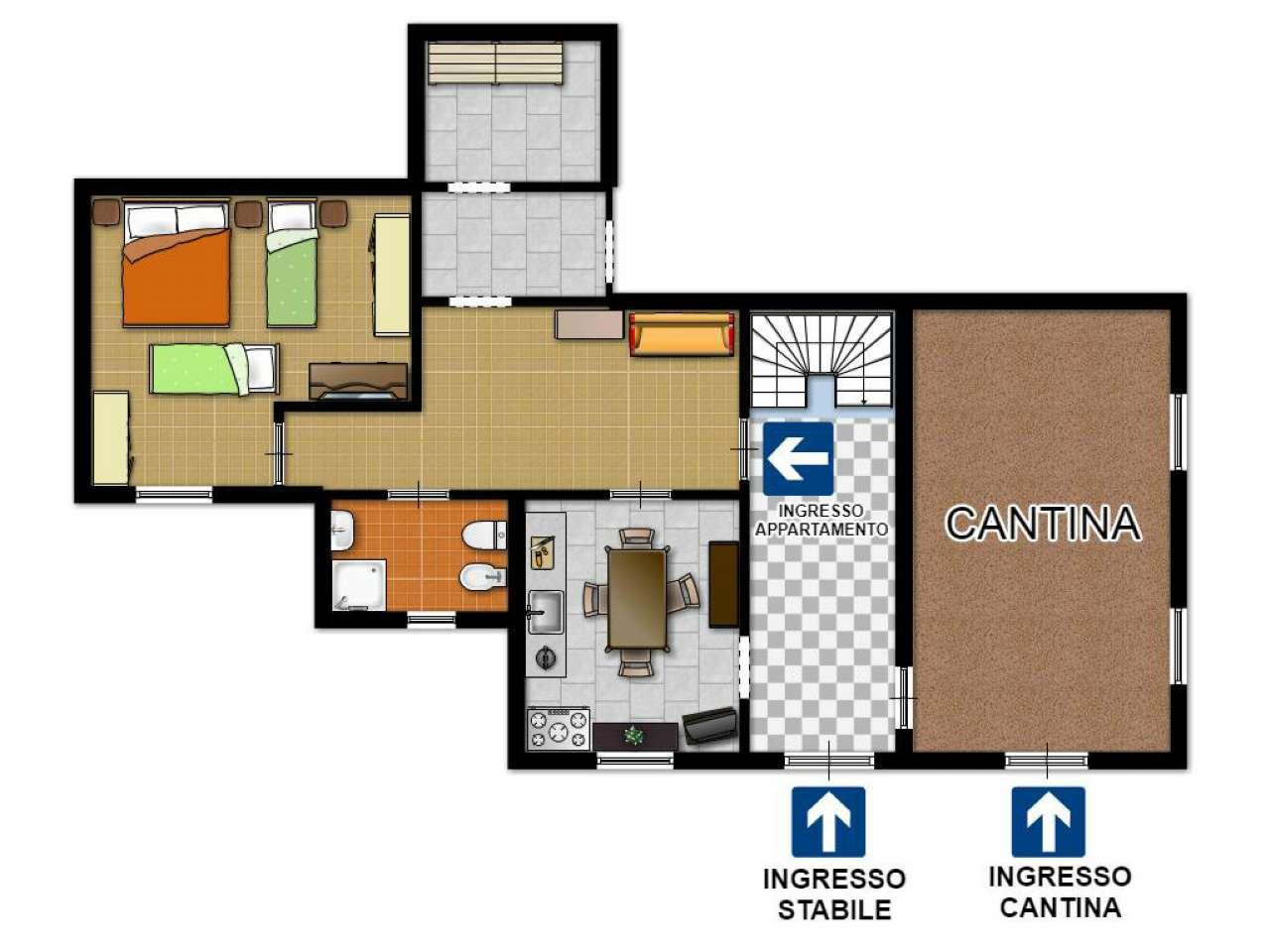 Appartamento in Vendita a Ronco Scrivia