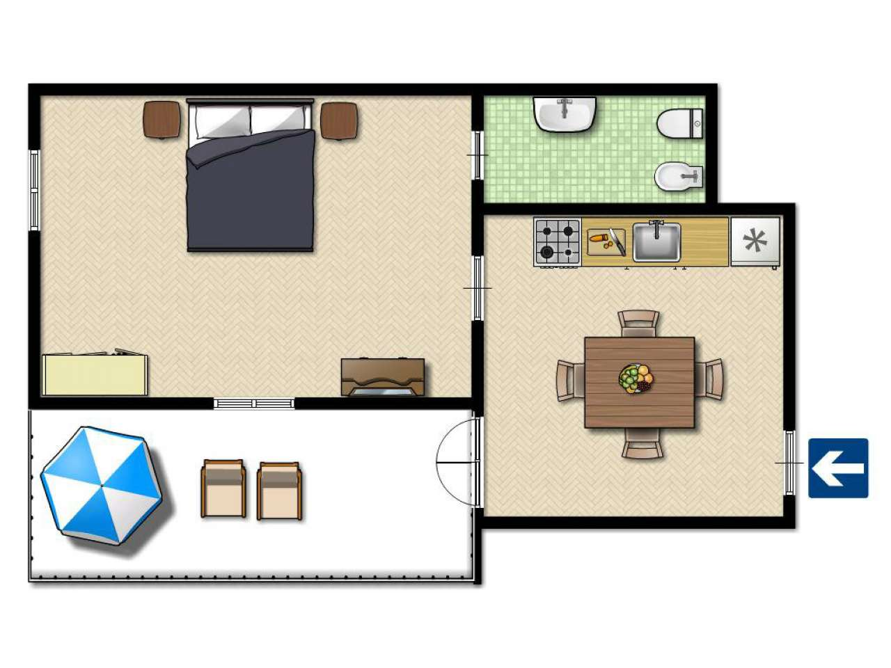 Appartamento, pietrafraccia, Vendita - Ronco Scrivia
