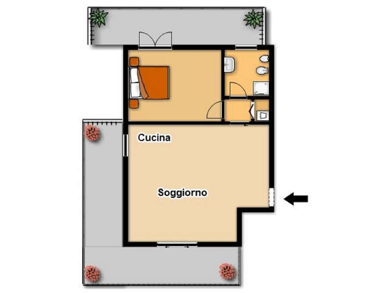 Vendita  bilocale Brescia Via Villa Ottorino 1 882162