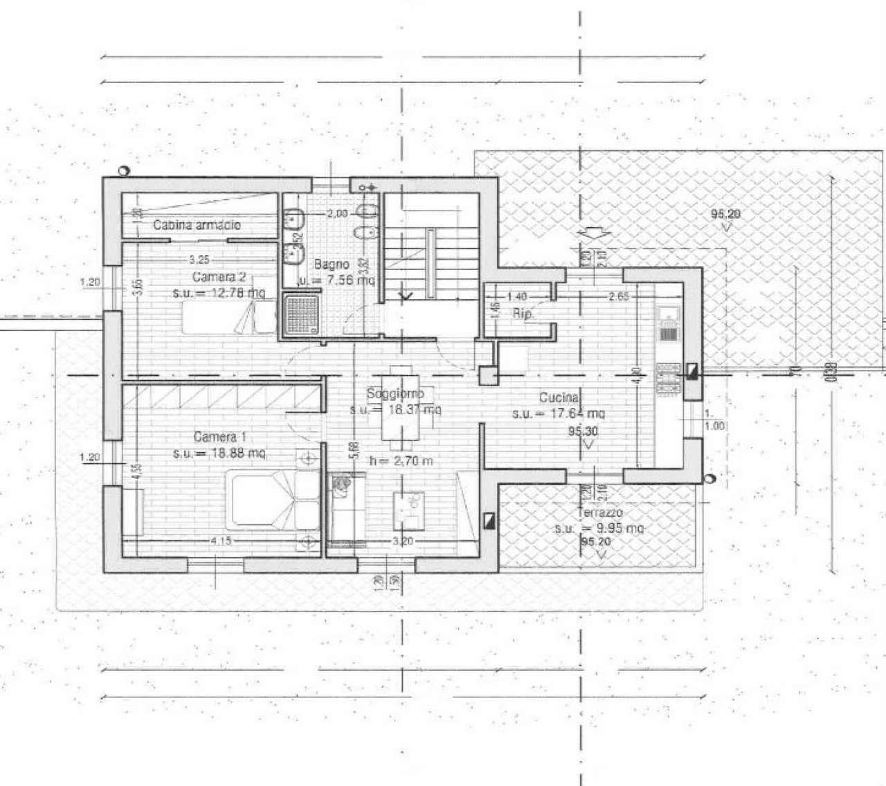 Terreno Edificabile Residenziale in vendita a Campomorone, 9999 locali, prezzo € 55.000 | Cambio Casa.it