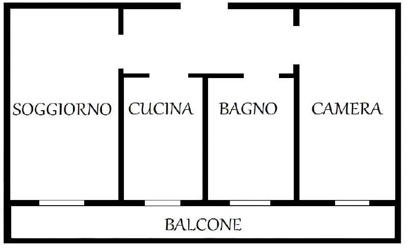 Affitto  bilocale Melzo Magenta 1 932128