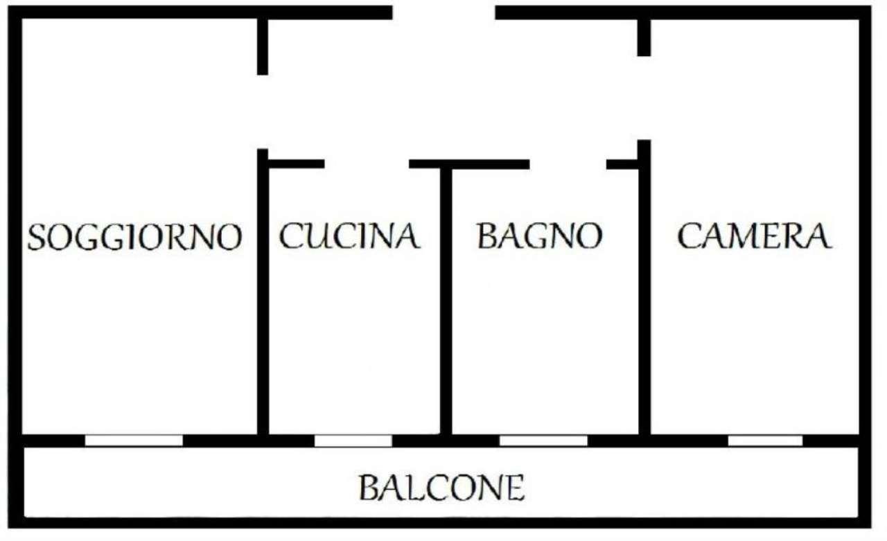 Vendita  bilocale Melzo Casanova 1 970796